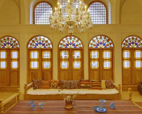 Manouchehri house kashan Iran